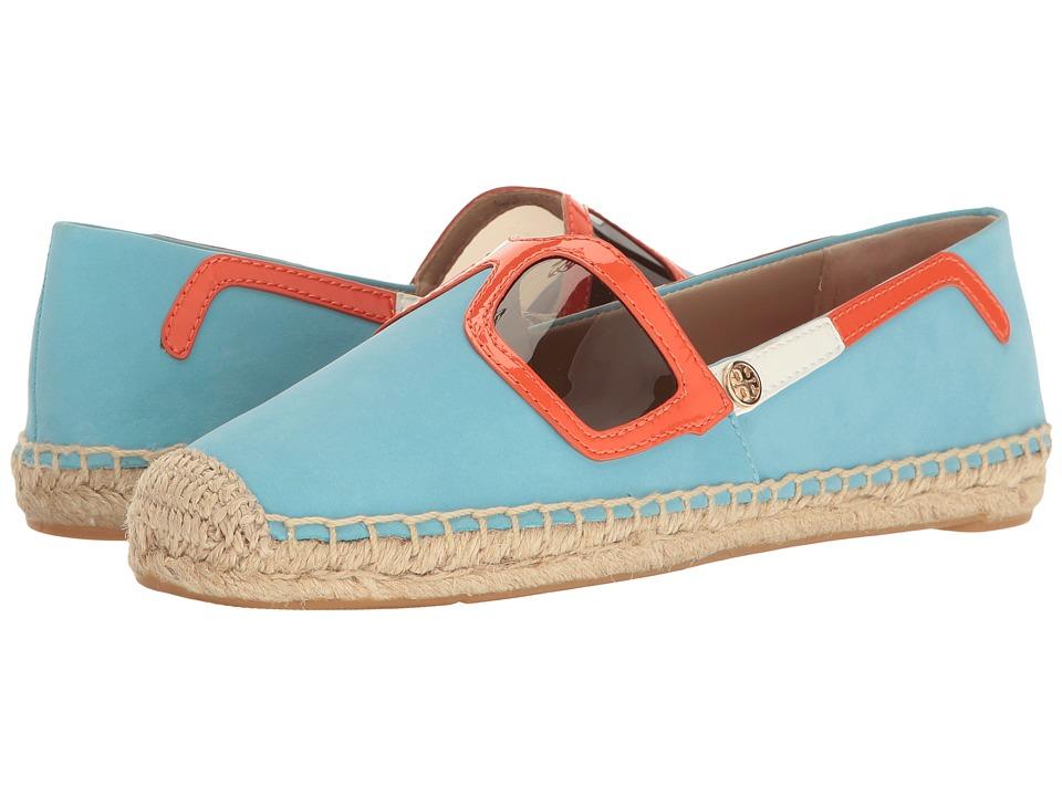Tory Burch - Sunny Flat Espadrille (Jewel Oasis/Multi) Women's Shoes