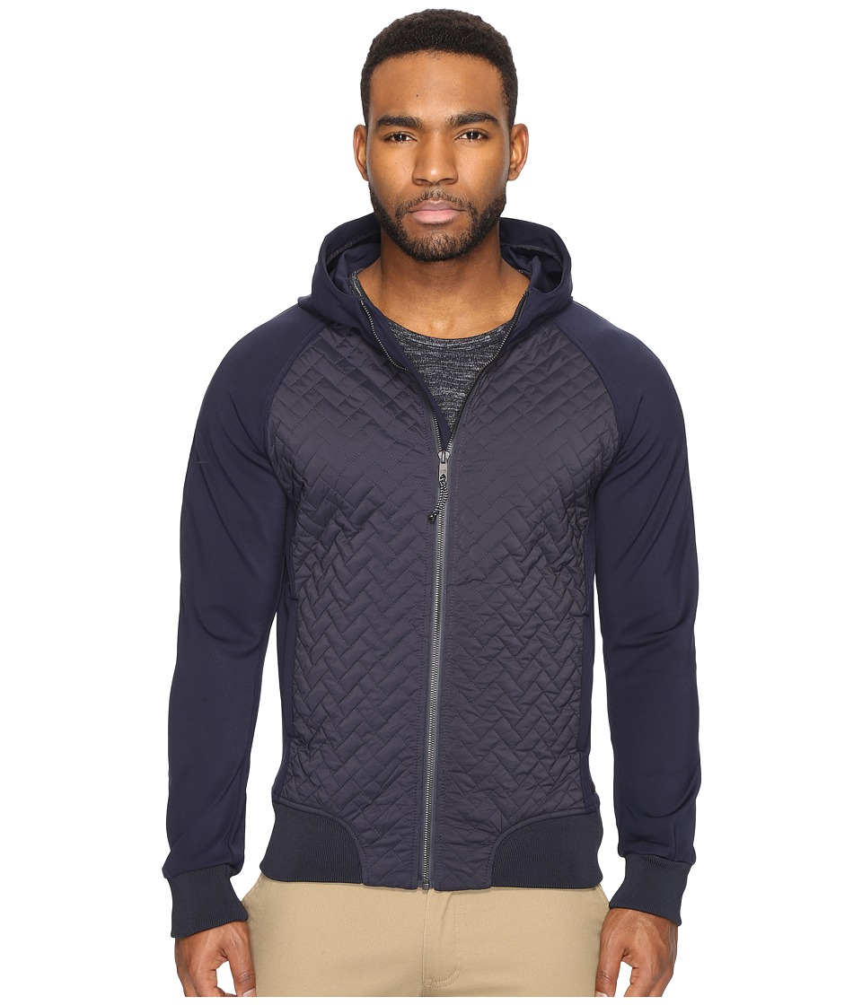 Scotch & Soda - Lightweight Hooded Jacket in Mix Match Qualities (Night) Men's Coat