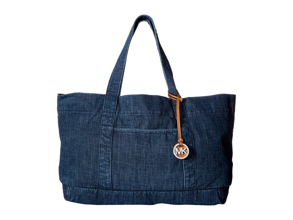 MICHAEL Michael Kors - Denim Item XL Tote (Indigo) Tote Handbags