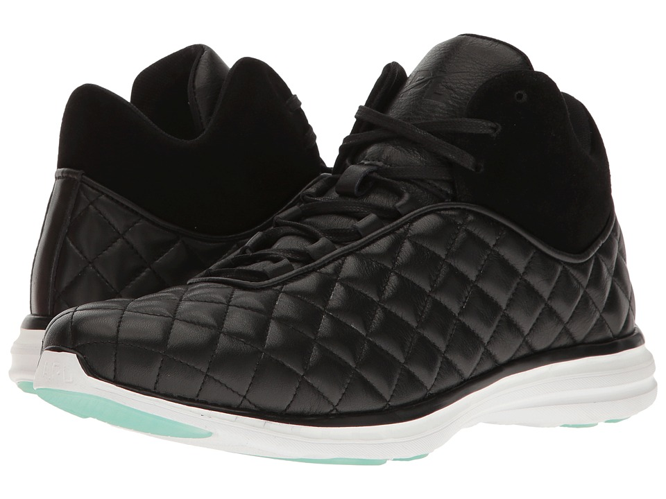 Athletic Propulsion Labs (APL) - Iusso (Black/Silver/Iron) Women's Shoes