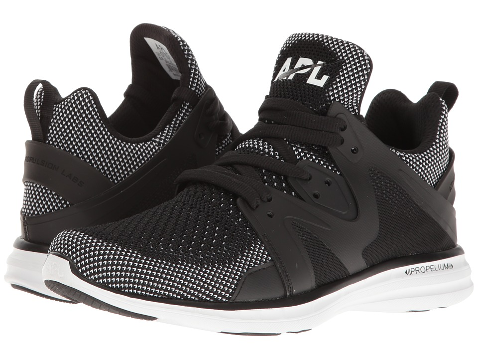 Athletic Propulsion Labs (APL) - Ascend (Black/White) Women's Shoes
