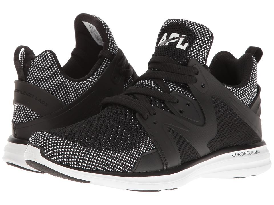 Athletic Propulsion Labs (APL) - Ascend (Black/White) Women's Shoes