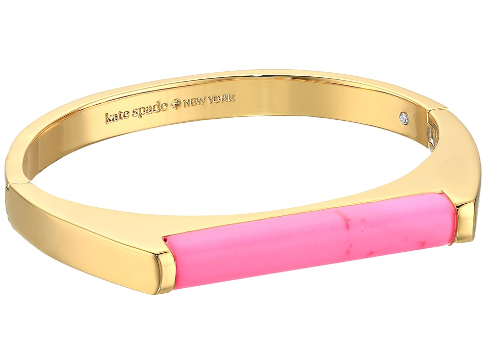 Kate Spade New York - Building Blocks Bangle (Pink) Bracelet