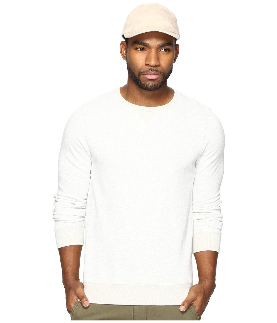 Scotch & Soda - Classic Crew Neck Sweat (Stone Melange) Men's Clothing