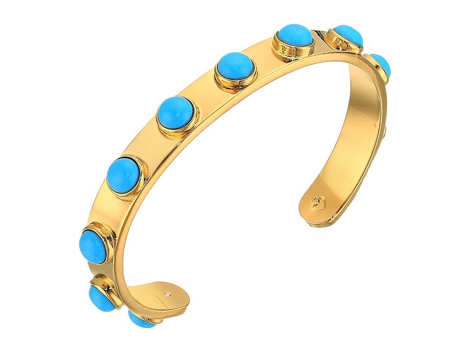 Kate Spade New York - Tag Along Cuff Bracelet (Turquoise) Bracelet