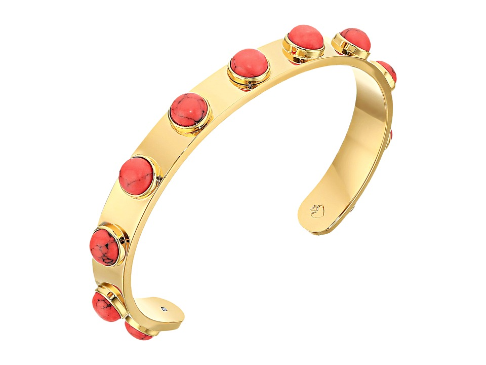 Kate Spade New York - Tag Along Cuff Bracelet (Red) Bracelet