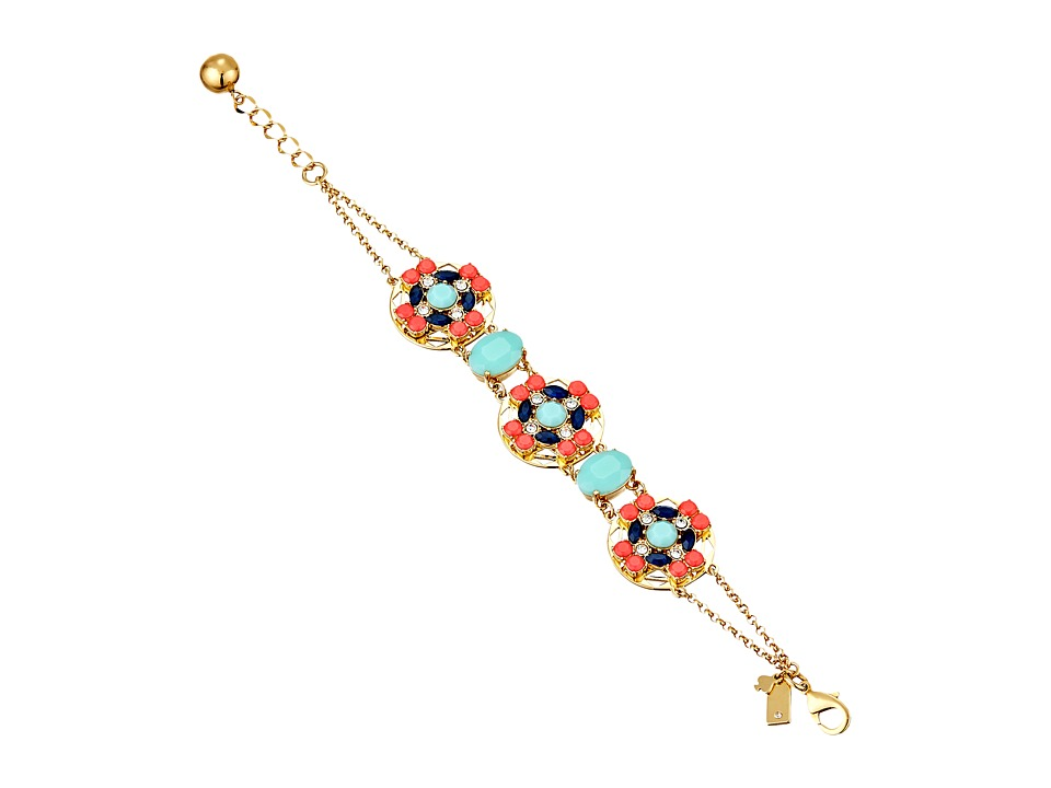 Kate Spade New York - Jeweled Tile Bracelet (Multi) Bracelet