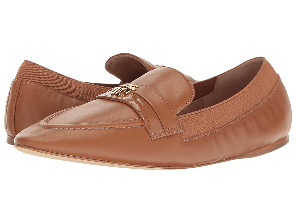 Tory Burch - Jolie Loafer (Royal Tan) Women's Shoes