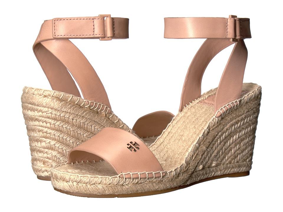 Tory Burch - Bima 2 Wedge Espadrille (Makeup) Women's Wedge Shoes