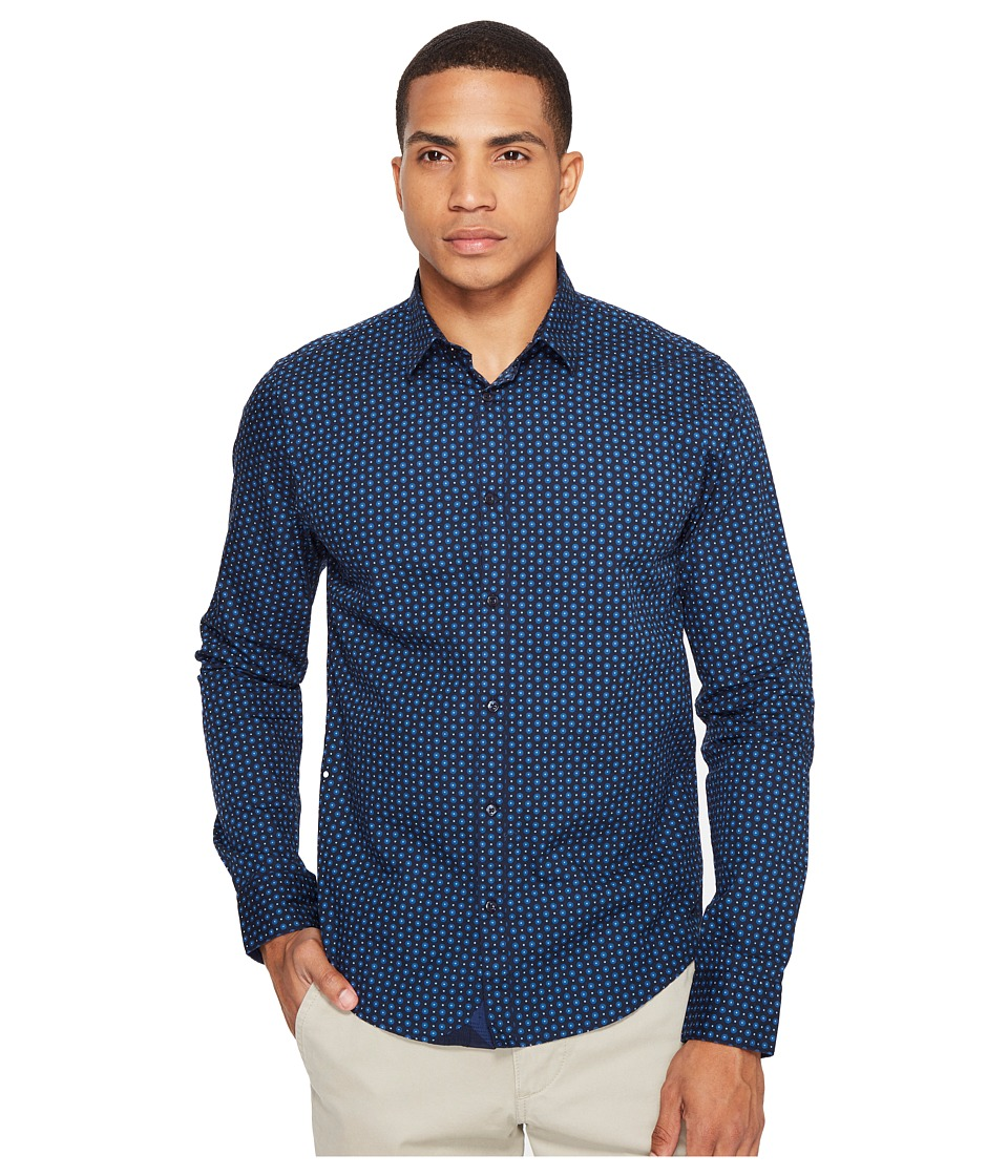 Scotch & Soda - Classic Long Sleeve Shirt in Crispy Poplin Quality (Combo E) Men's Clothing