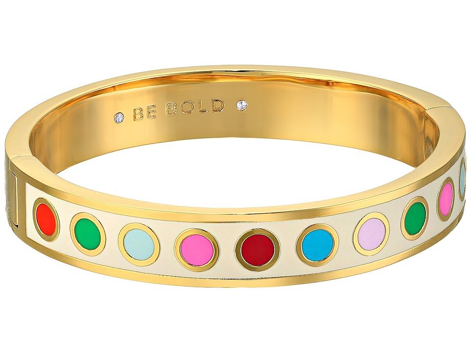 Kate Spade New York - Idiom Bangles Be Bold - Hinged Bracelet (Multi) Bracelet