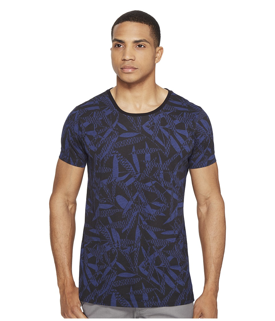 Scotch & Soda - Tee with Uneven Bottom in Lightweight Jersey Quality (Combo A) Men's T Shirt