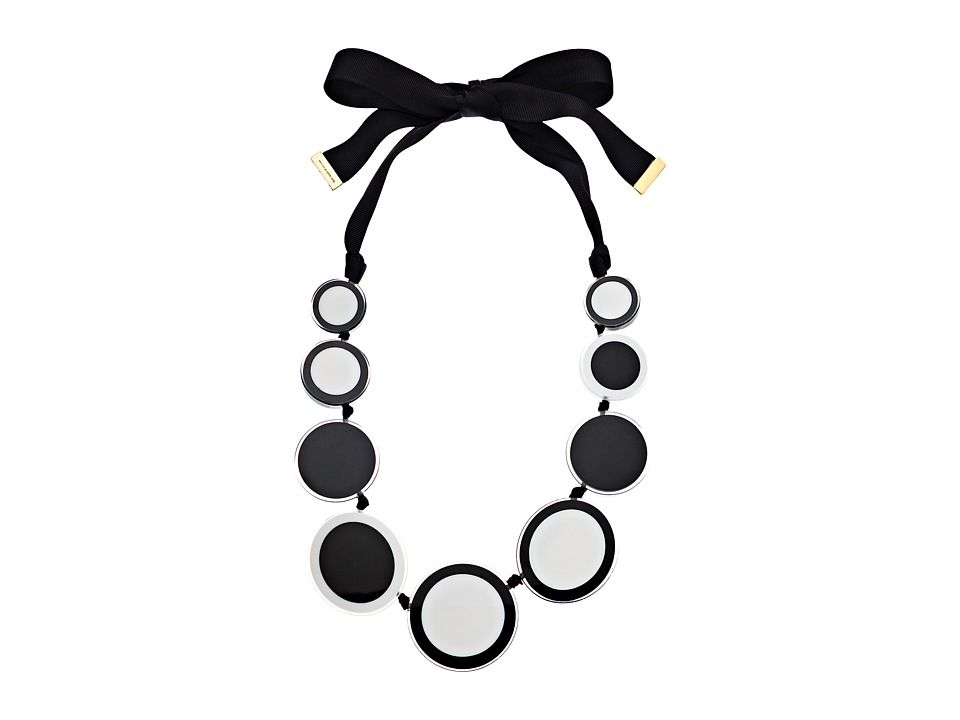 Kate Spade New York - Connect The Dots Statement Necklace (Neutral Multi) Necklace