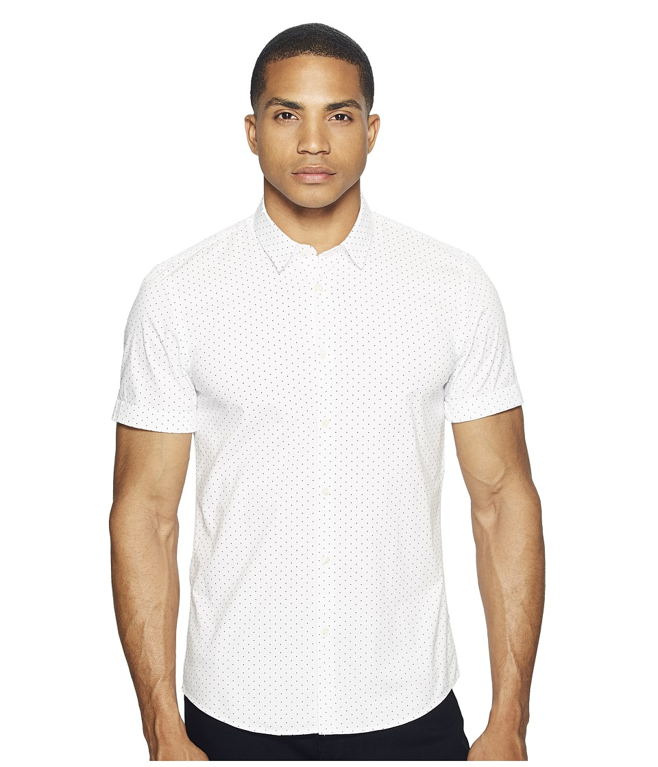 Scotch & Soda - Classic Short Sleeve Shirt in Cotton/Elastane Quality (Combo B) Men's Clothing