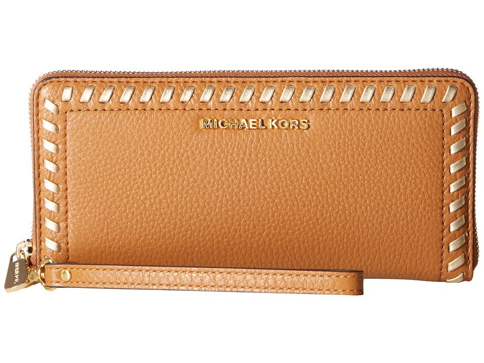 MICHAEL Michael Kors - Lauryn Travel Continental (Acorn) Handbags