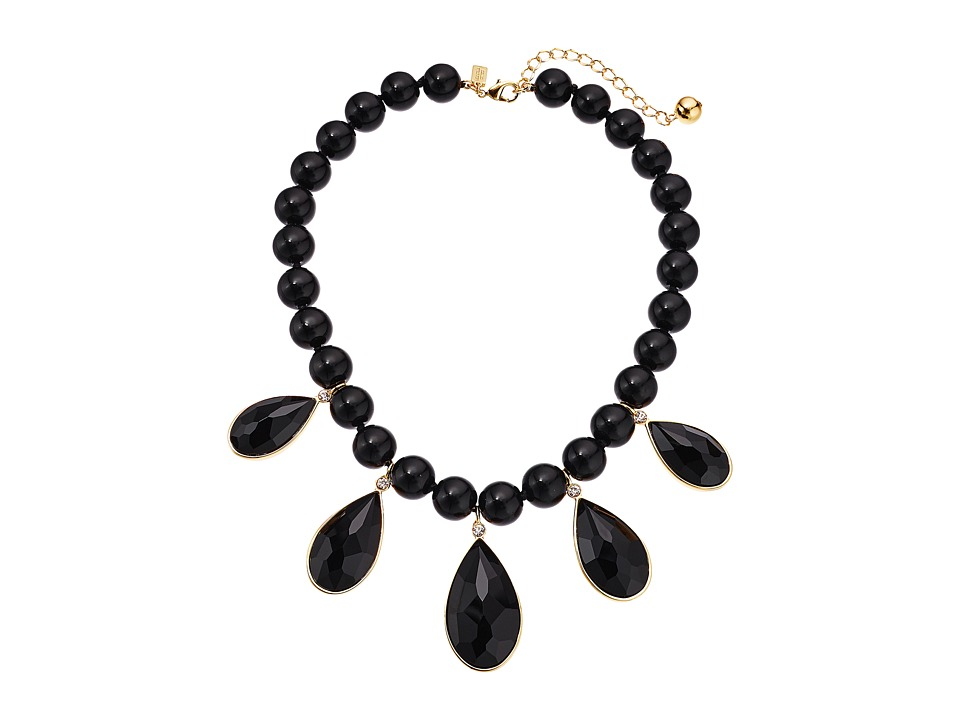 Kate Spade New York - True Colors Stone Necklace (Black Multi) Necklace