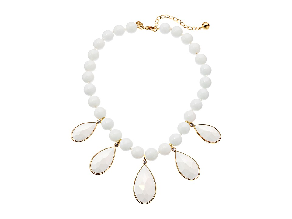 Kate Spade New York - True Colors Stone Necklace (White Multi) Necklace