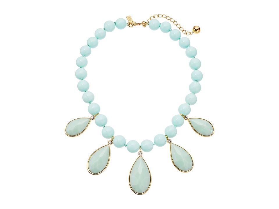 Kate Spade New York - True Colors Stone Necklace (Light Blue Multi) Necklace
