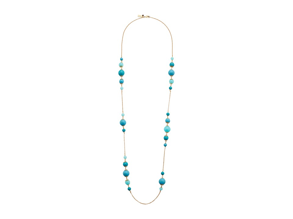 Kate Spade New York - Start A Movement Scatter Necklace (Turquoise Multi) Necklace