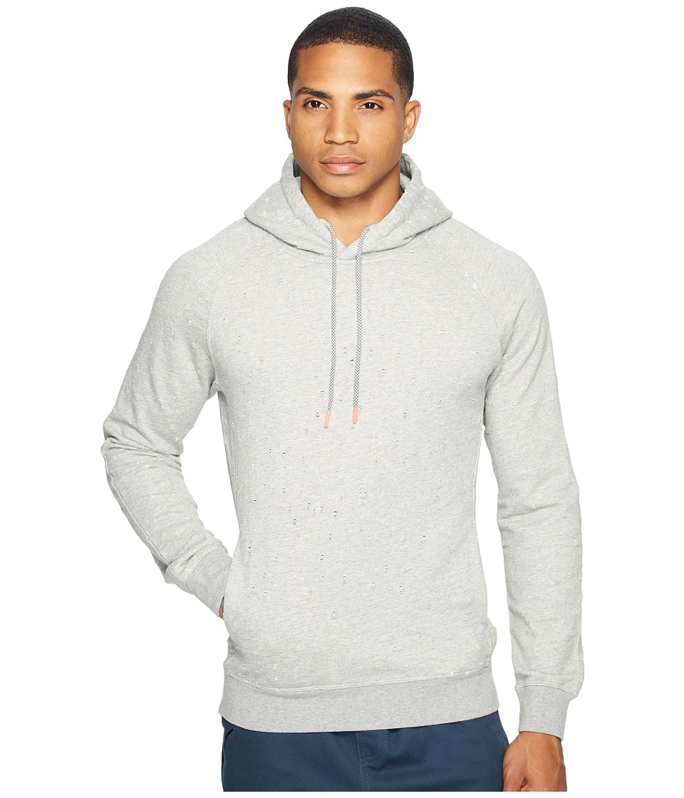 Scotch & Soda - Hooded Sweat in Felpa Quality with All Over Damagings (Combo A) Men's Sweatshirt