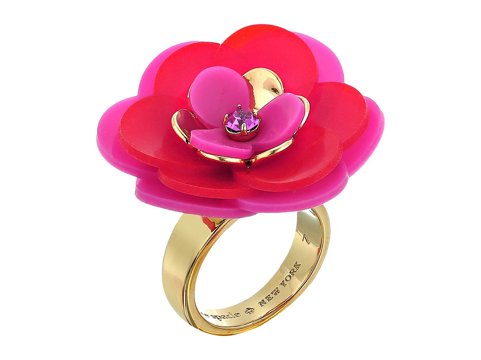 Kate Spade New York - Rosy Posies Ring (Pink Multi) Ring