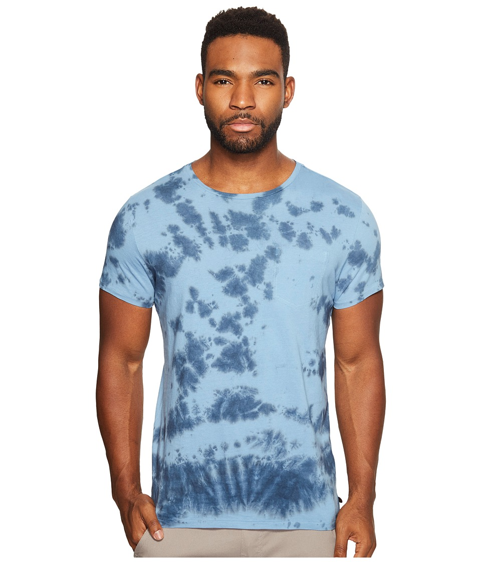 Scotch & Soda - Tie-Dyed Crew Neck Tee in Melange Jersey Quality (Combo D) Men's T Shirt