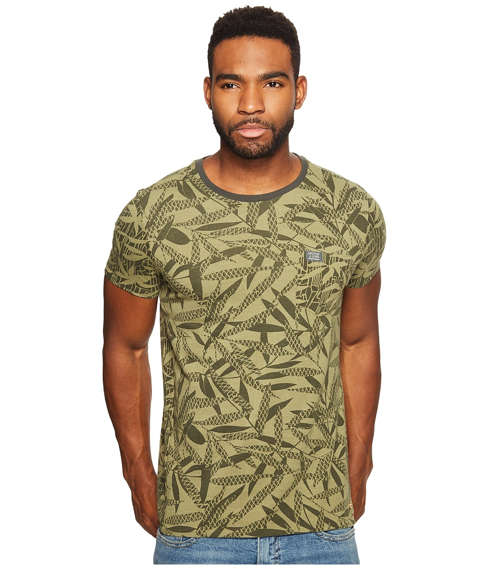 Scotch & Soda - Tee in Mix Match Printed Patterns (Combo B) Men's T Shirt