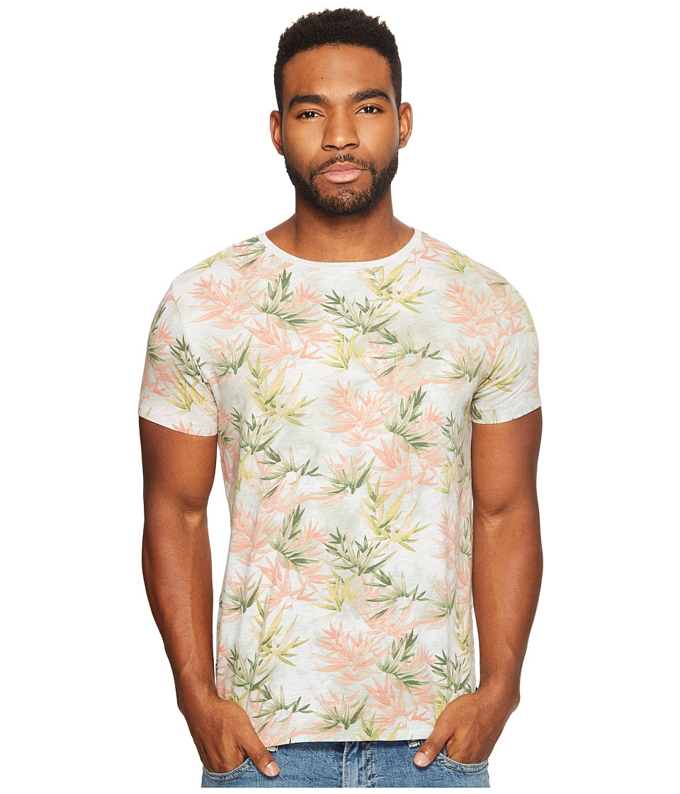 Scotch & Soda - Tie-Dyed Crew Neck Tee in Melange Jersey Quality (Combo E) Men's T Shirt