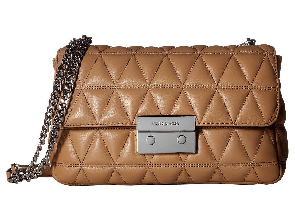 MICHAEL Michael Kors - Sloan Large Chain Shoulder (Cashew) Shoulder Handbags
