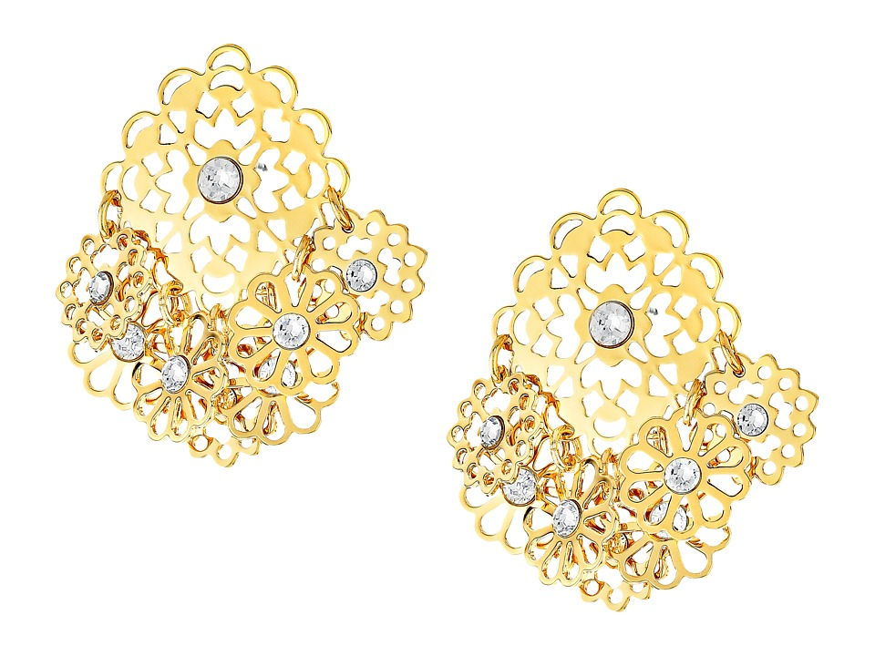 Kate Spade New York - Golden Age Studs Earrings (Gold) Earring