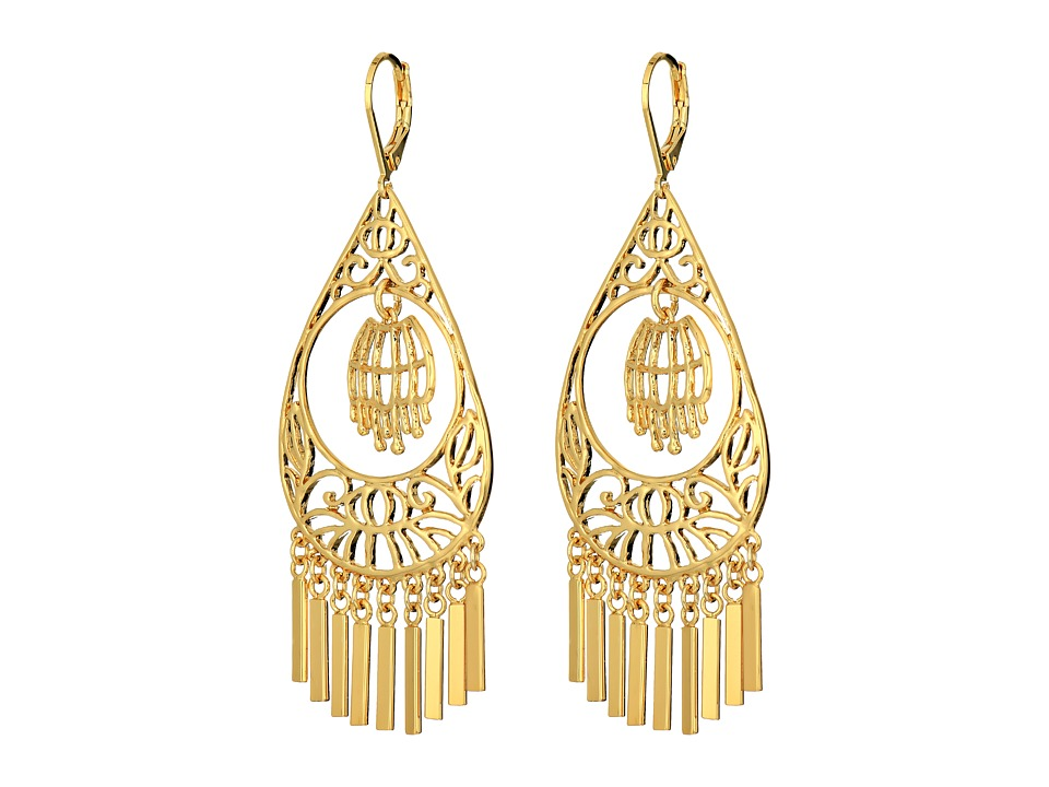 Kate Spade New York - Golden Age Drop Earrings (Gold) Earring