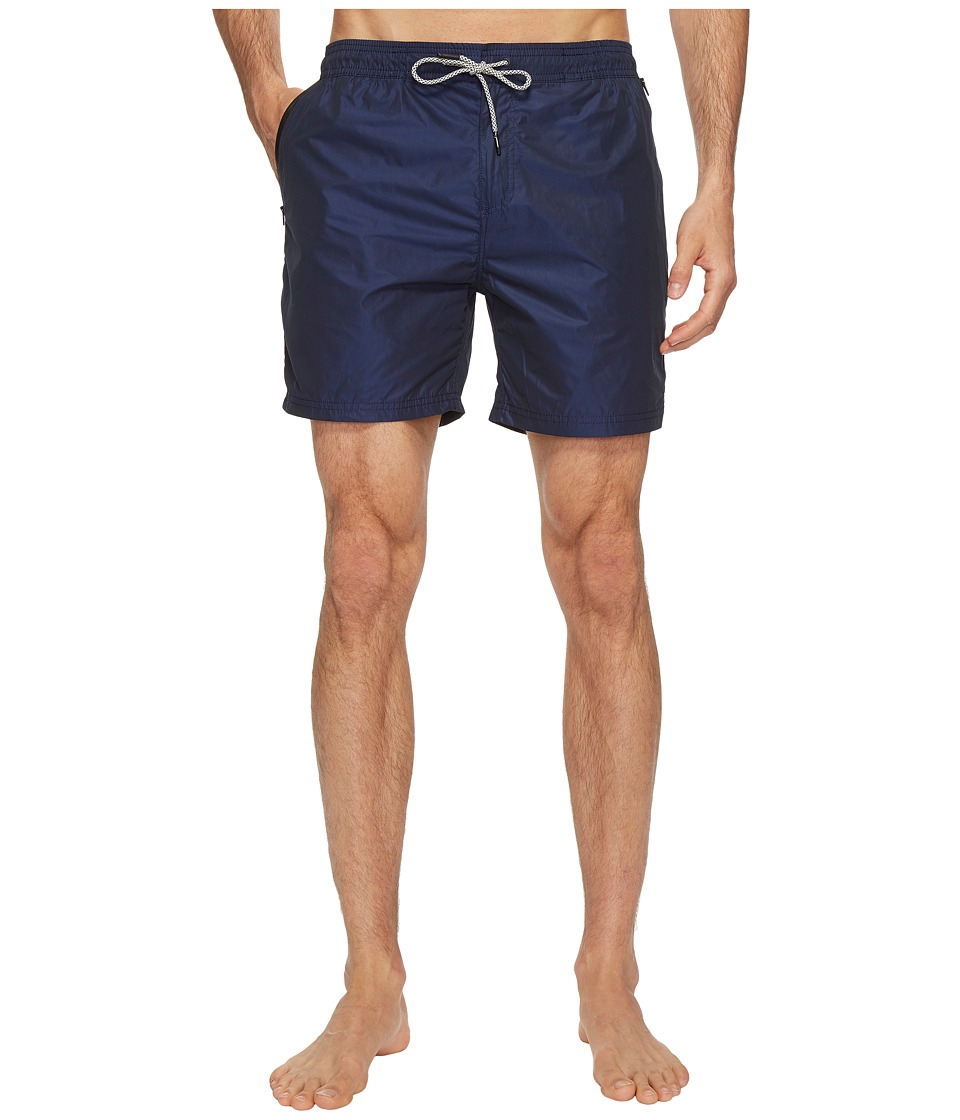 Scotch & Soda - Swim Shorts in Two-Tone Quality (Night) Men's Swimwear