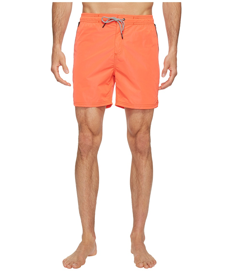 Scotch & Soda - Swim Shorts in Two-Tone Quality (Blazing Red) Men's Swimwear
