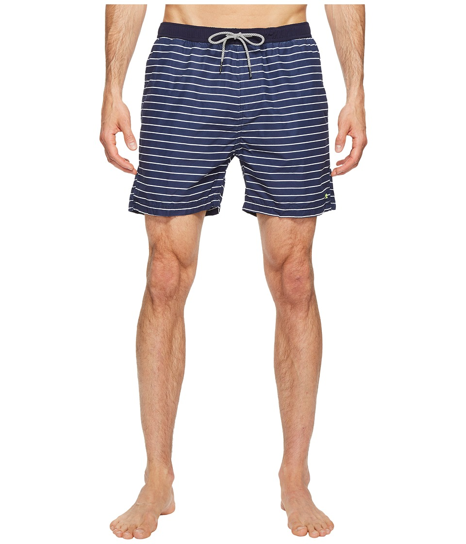 Scotch & Soda - Medium Length Colorful Swim Shorts in Cotton/Nylon Quality (Combo C) Men's Swimwear