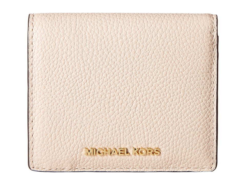 MICHAEL Michael Kors - Mercer Carryall Card Case (Soft Pink) Credit card Wallet