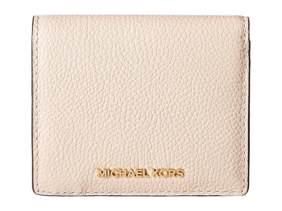 MICHAEL Michael Kors - Mercer Carryall Card Case (Soft Pink) Credit card Wallet