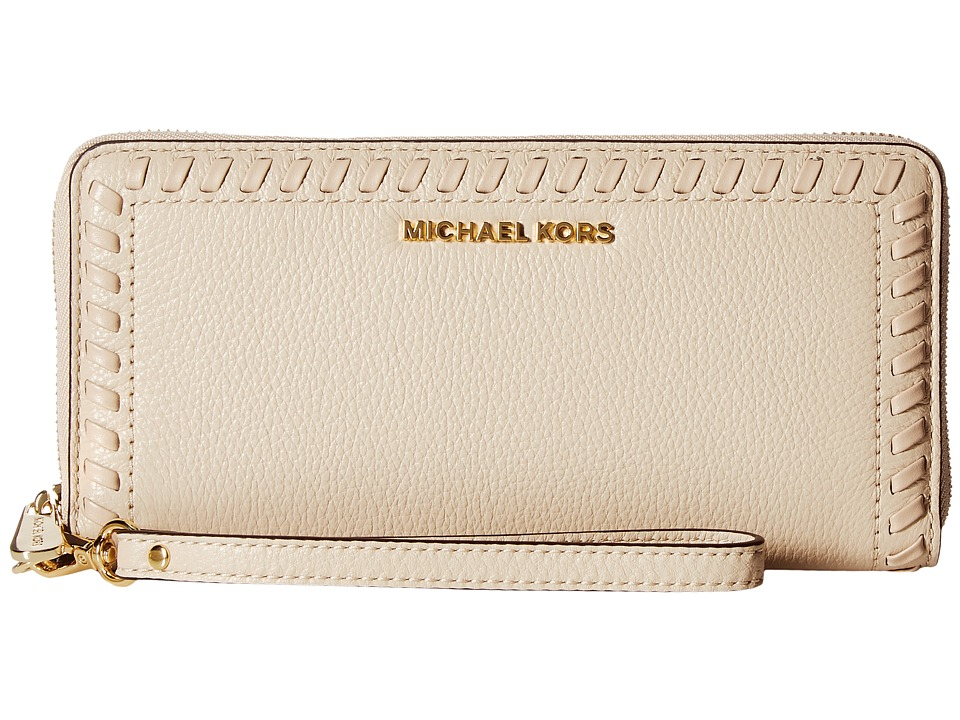 MICHAEL Michael Kors - Lauryn Travel Continental (Oyster) Handbags