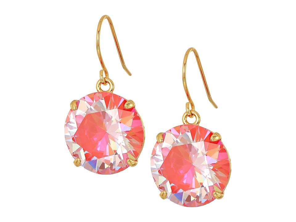 Kate Spade New York - Shine On French Wire Drop Earrings (Red) Earring