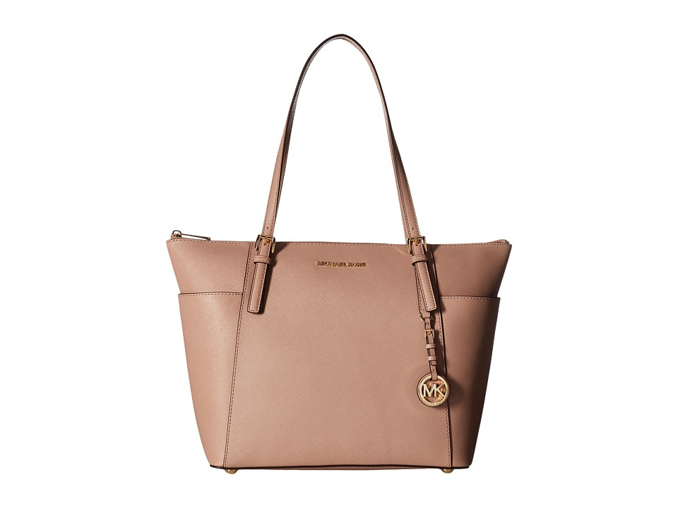 MICHAEL Michael Kors - Jet Set Item Large East/West Top-Zip Tote (Fawn) Tote Handbags