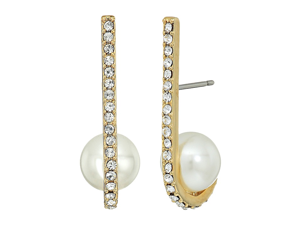 Kate Spade New York - Shine On Pearl Cuff Earrings (Cream Multi) Earring