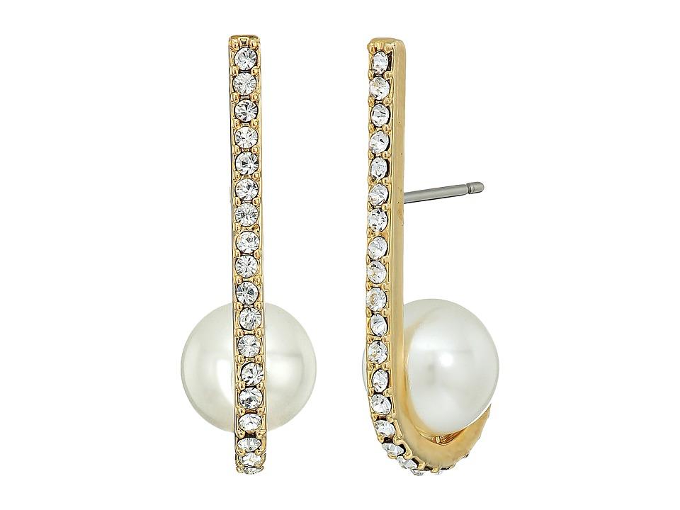 Kate Spade New York - Shine On Pearl Cuff Earrings (Cream Multi) Earring