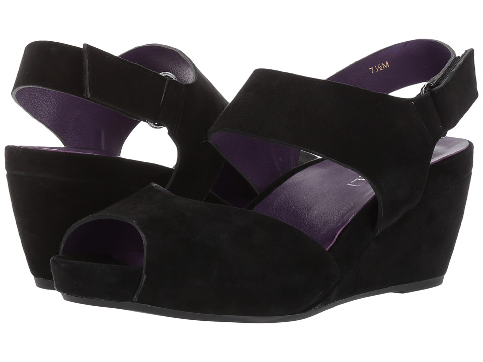 Vaneli Ilex (Black Suede/Gunmetal Trim) Women