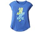Nike Kids - Ask Me About My Kicks Tee (Toddler)