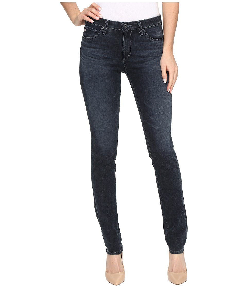 AG Adriano Goldschmied - Prima Mid-Rise Cigarette Leg in Cinematic (Cinematic) Women's Jeans