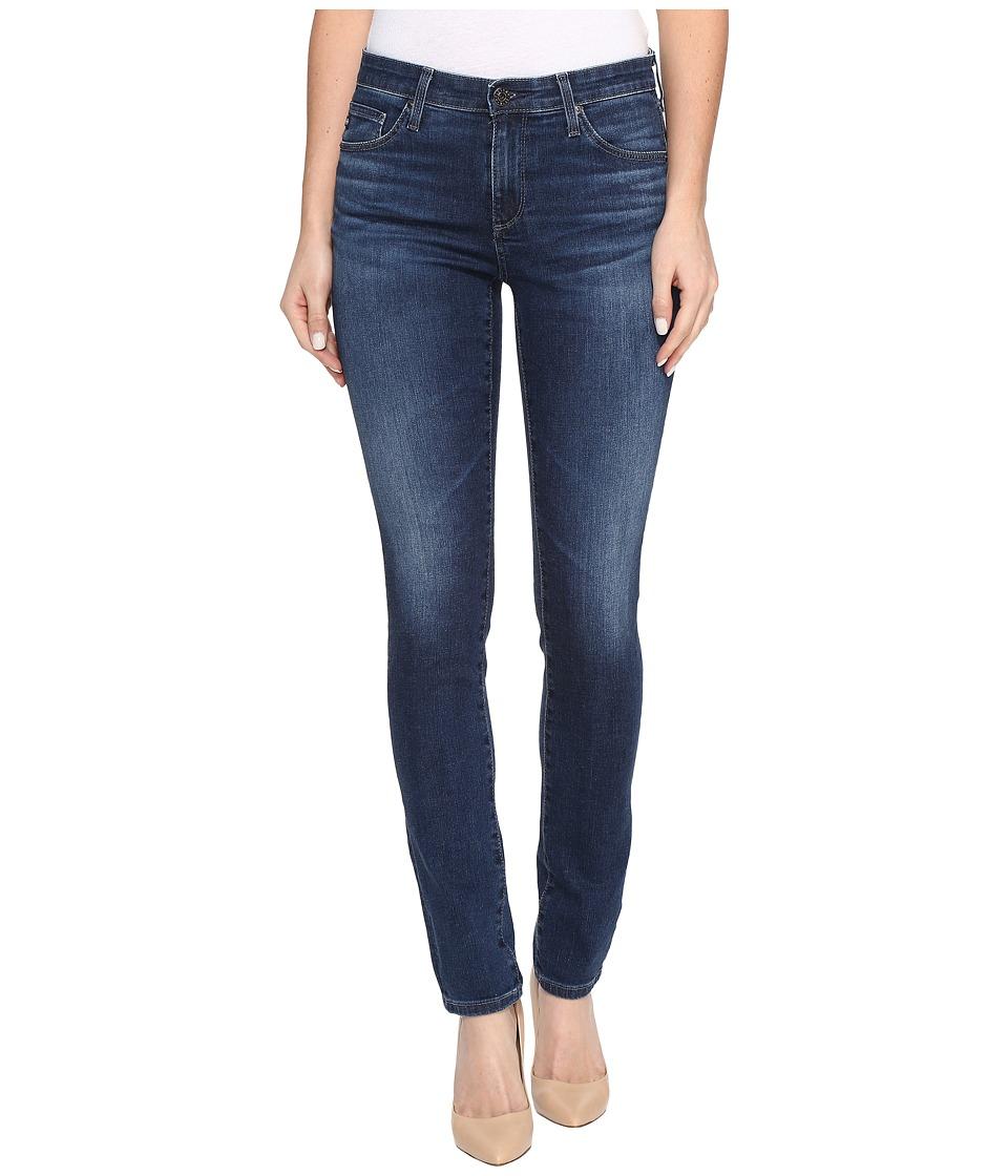 AG Adriano Goldschmied - Prima Mid-Rise Cigarette Leg in Moonlit (Moonlit) Women's Jeans