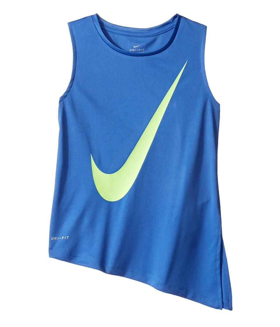 Nike Kids - Kta805 Fashion Dri-FITtm Muscle Top (Little Kids) (Comet Blue) Girl's Clothing