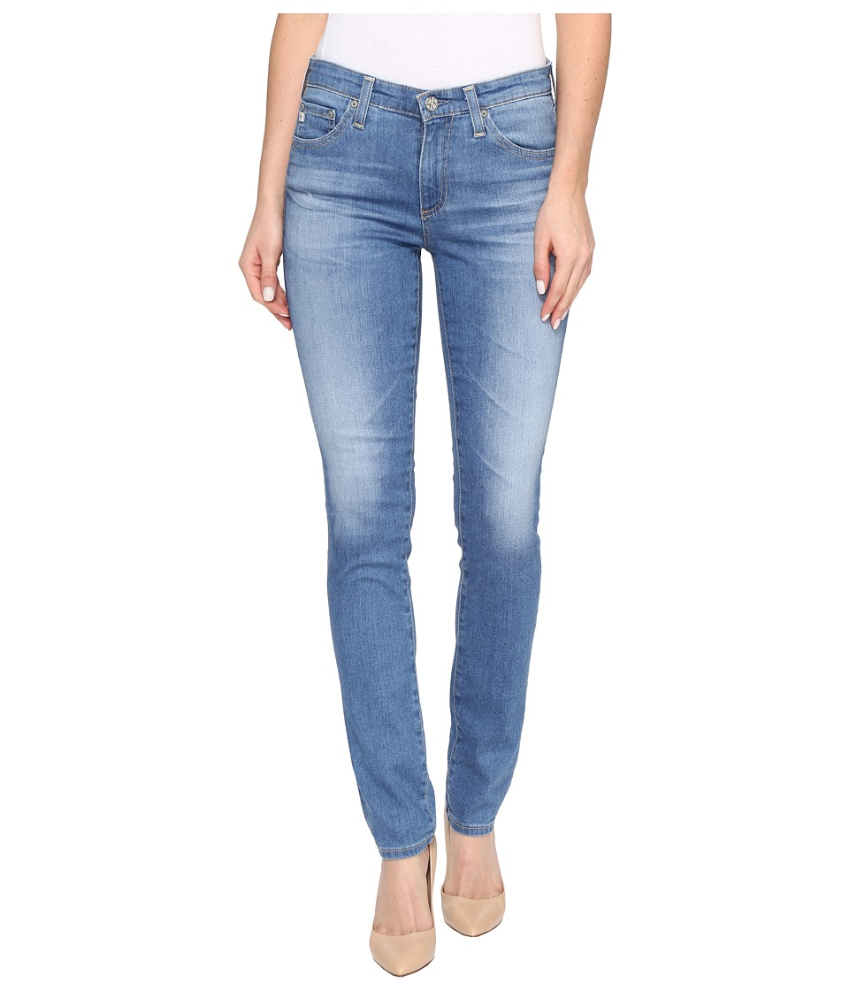 AG Adriano Goldschmied - Prima Mid-Rise Cigarette Leg in 12 Years Canyon (12 Years Canyon) Women's Jeans