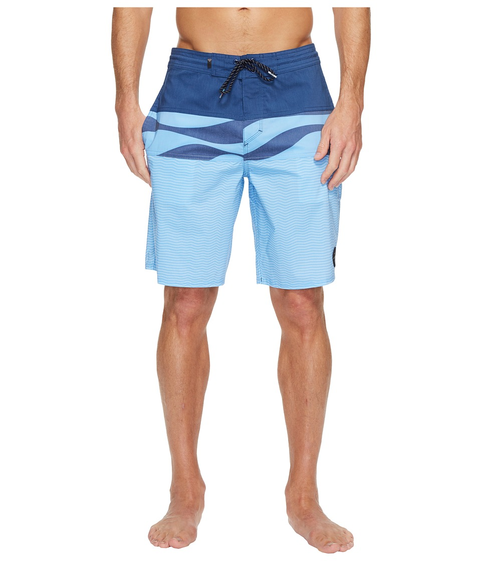 Quiksilver Heatwave Blocked 20 Beachshort (Estate Blue) Men