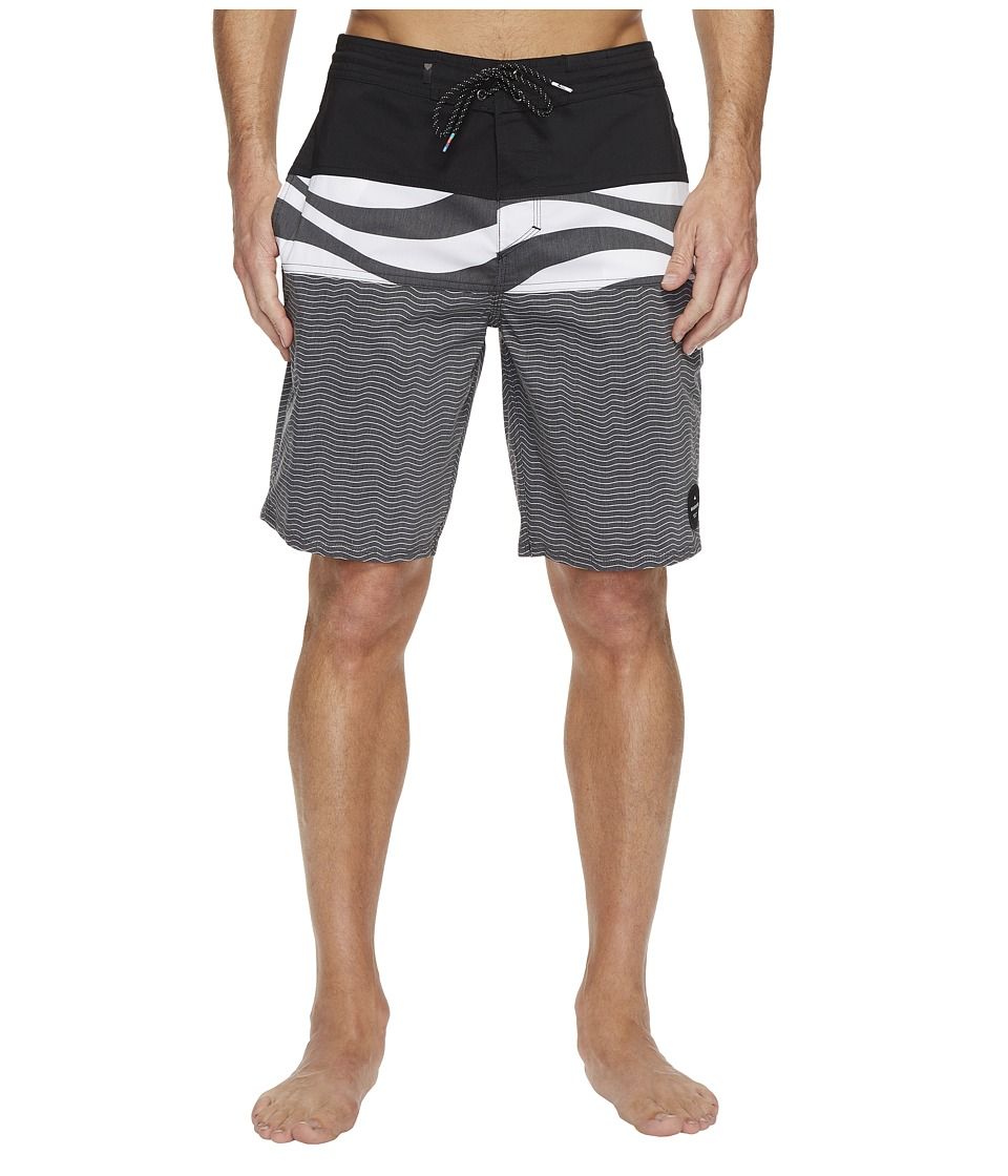 Quiksilver - Heatwave Blocked 20 Beachshort (Black) Men's Swimwear