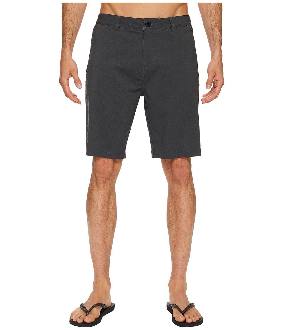 Quiksilver - Transit Twill Amphibian 20 Short (Black) Men's Shorts